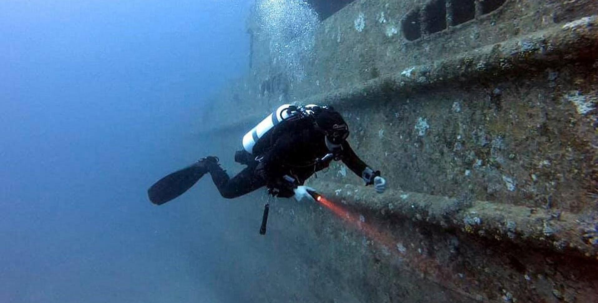 CMAS Wreck I Diver Training Programme