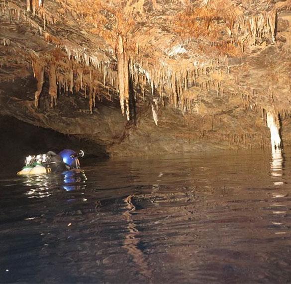 Cave Diver I